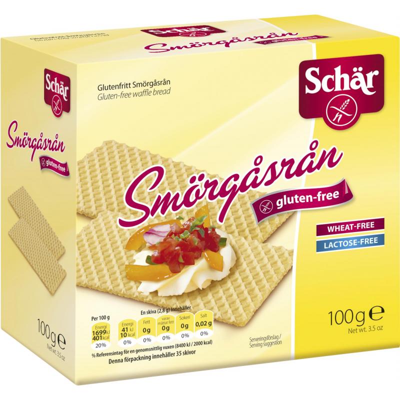 Näkkileipä Gluteeniton 100 g - 32% alennus