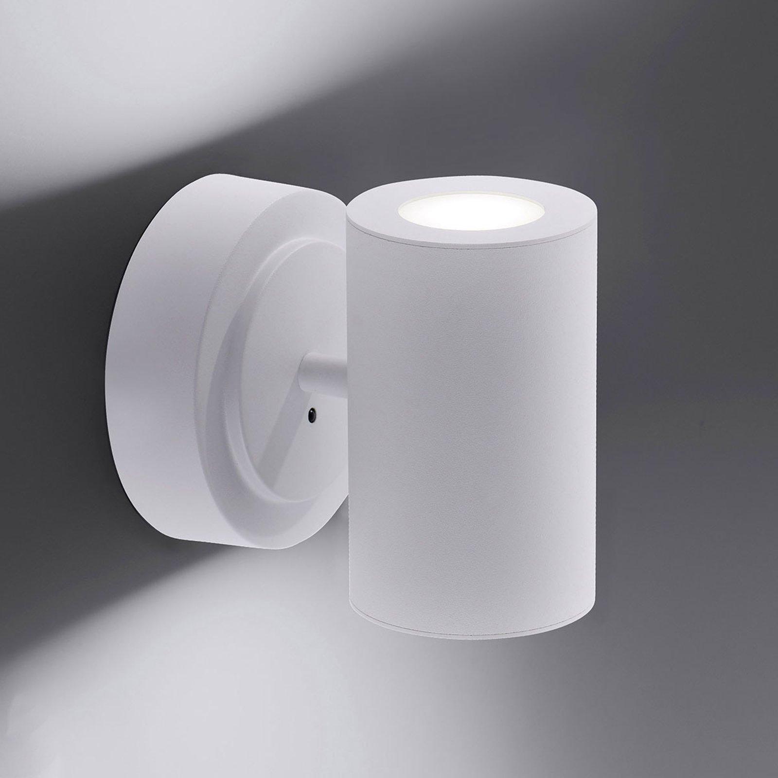 Trio WiZ Sancho LED-vegglampe matt hvit