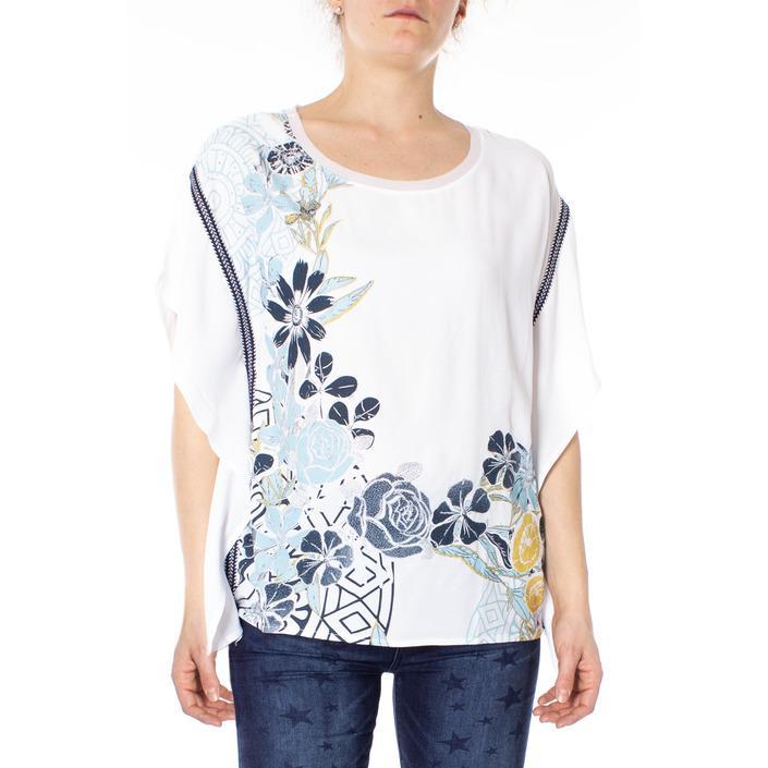 Desigual Women's Top White 166132 - white S