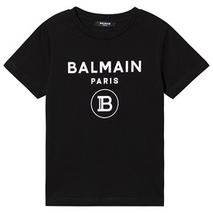 Balmain Logo T-Shirt Svart 4 years