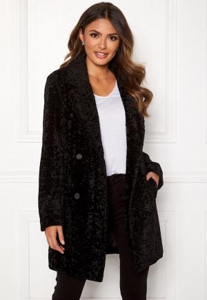Happy Holly Sienna fur coat Black 44/46