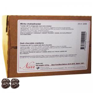 Godis Mörka Chokladtranbär 3,8kg - 67% rabatt
