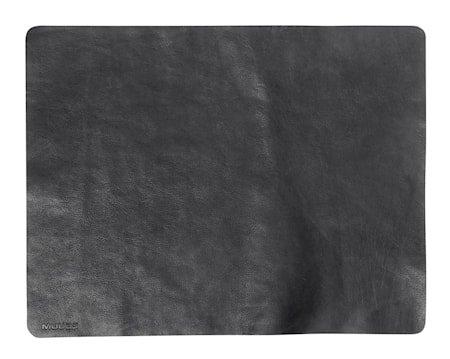 Bordunderlegg Camou Svart Buffalolær 35x45 cm