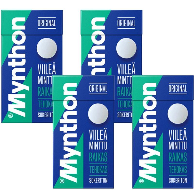 Mynthon Cool Mint 4-pack - 43% rabatt
