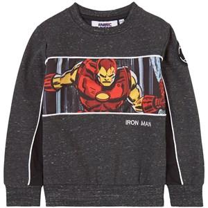 Fabric Flavours Marvel Invincible Iron Man Print Tröja Grå 3-4 years