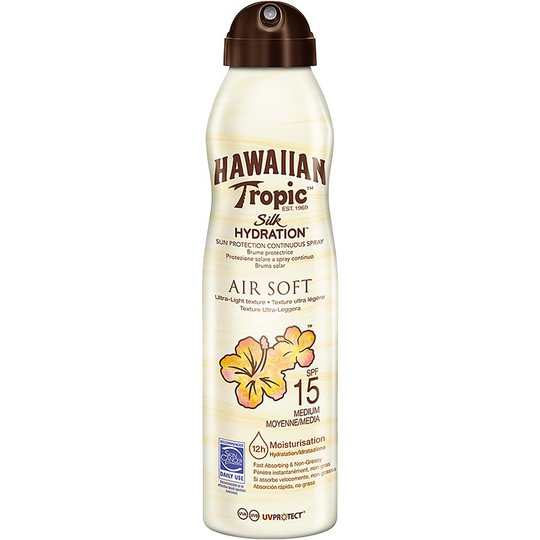Hawaiian Tropic Silk Hydration Air Soft C-spray SPF 15, 180 ml Hawaiian Tropic Aurinkovoiteet