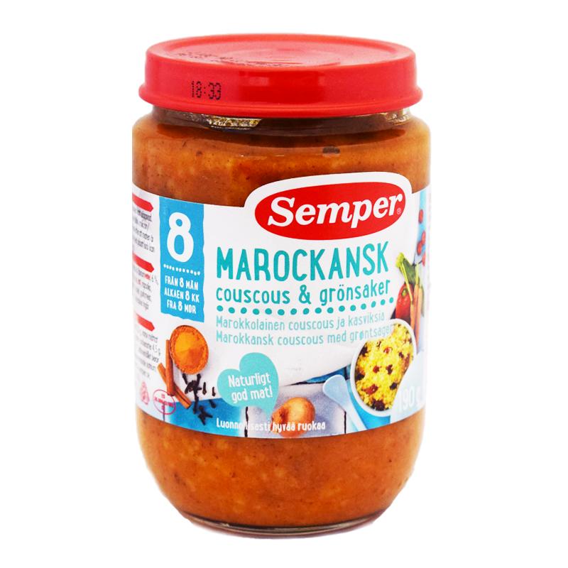Barnmat Couscous & Grönsaker - 33% rabatt