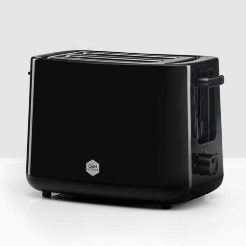 Obh-2260 Toaster Brödrost - Svart