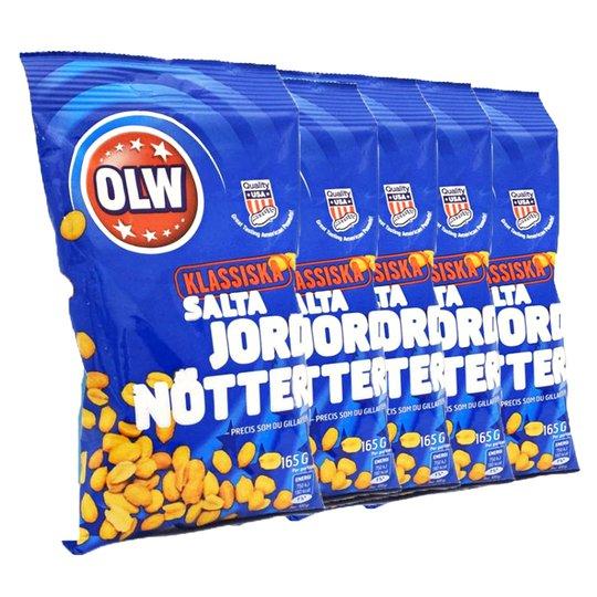 Jordnötter Salta 5-pack - 69% rabatt