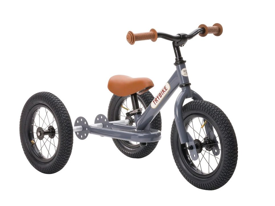 Trybike - 3 Wheel Steel, Vintage Grey