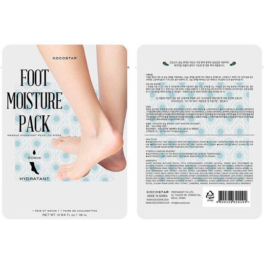 KOCOSTAR Foot Moisture Pack Mint, Kocostar Jalkojenhoito