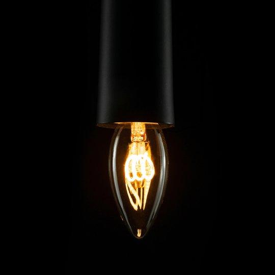 LED-filamentti-kynttilä Curved Line E14 2,7 W 922
