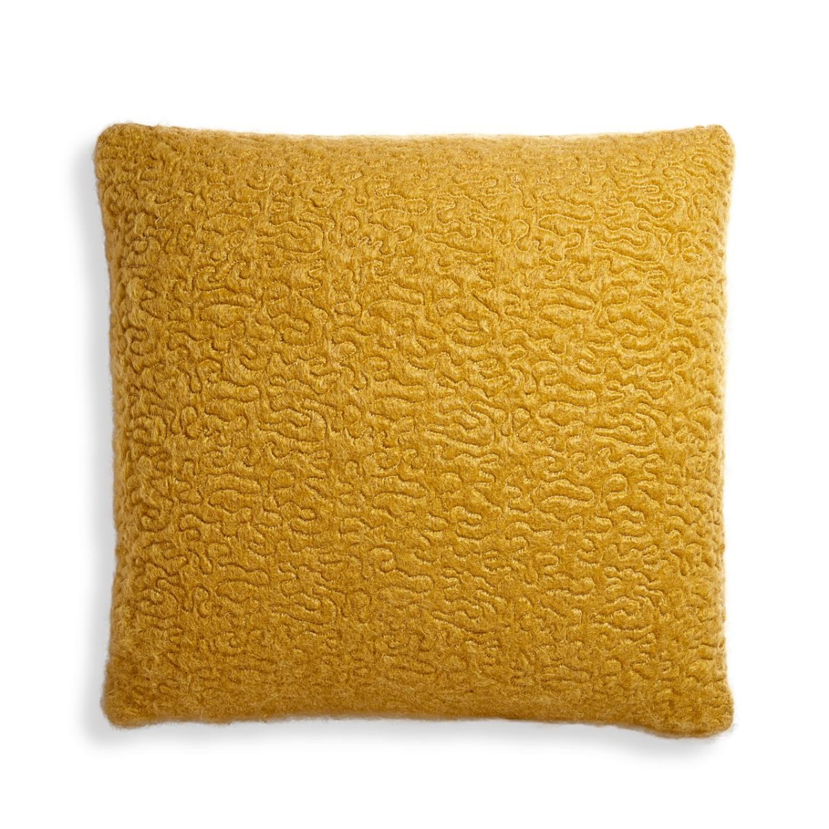 L'Objet I Haas Vermiculation Pillow I Saffron