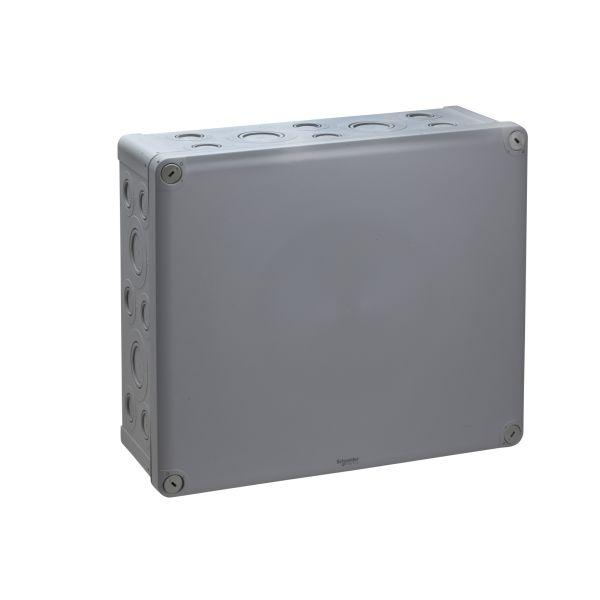 Schneider Electric ENN05099 Kytkentärasia harmaa, knock-outit, pinta-asennus 325x275x120 mm