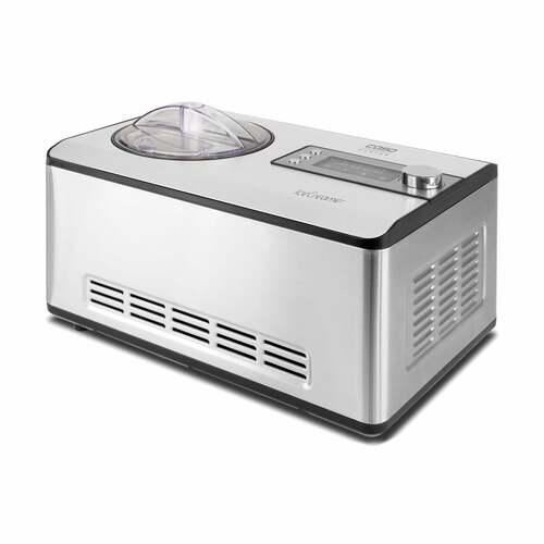Caso 3298 Icecreamer 180 Watt Glassmaskin - Rostfritt Stål