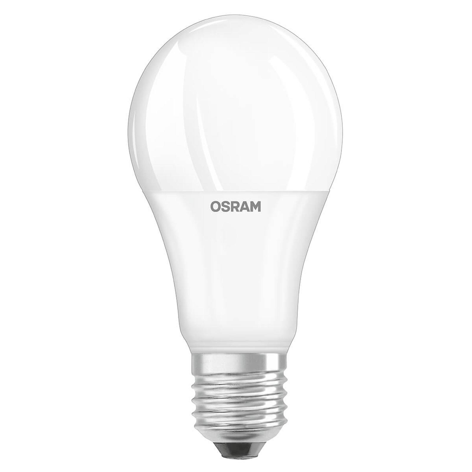 OSRAM-LED-lamppu E27 9W 827, päivänvalotunnistin