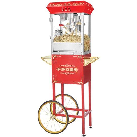 Great Northern Popcornvagn All Star 8-10 liter Röd