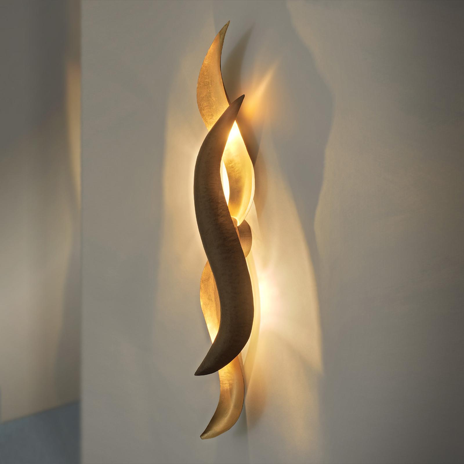 Kullanvärinen design-LED-seinävalaisin Corallo