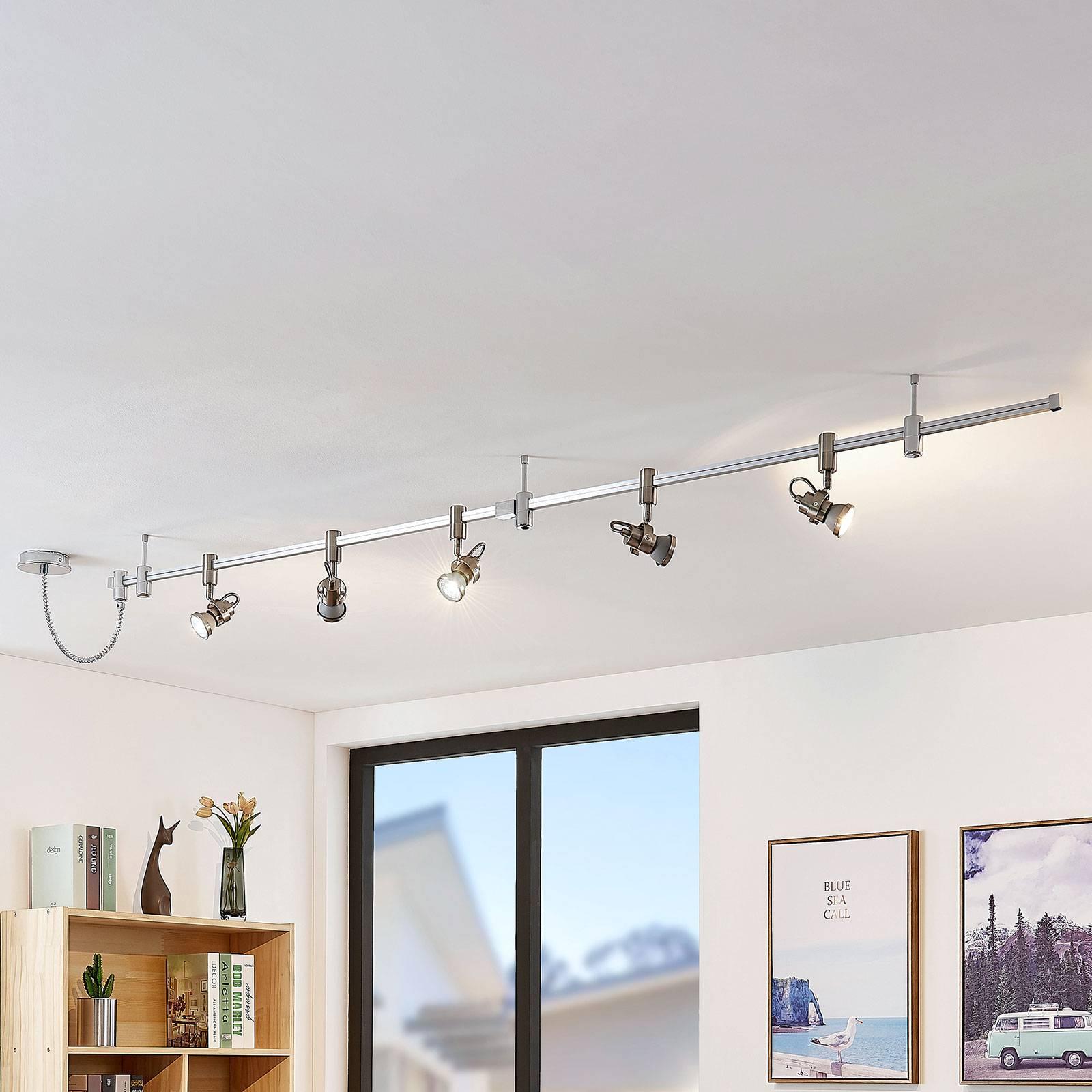 LED-korkeavolttikiskojärjestelmä Narelia, GU10