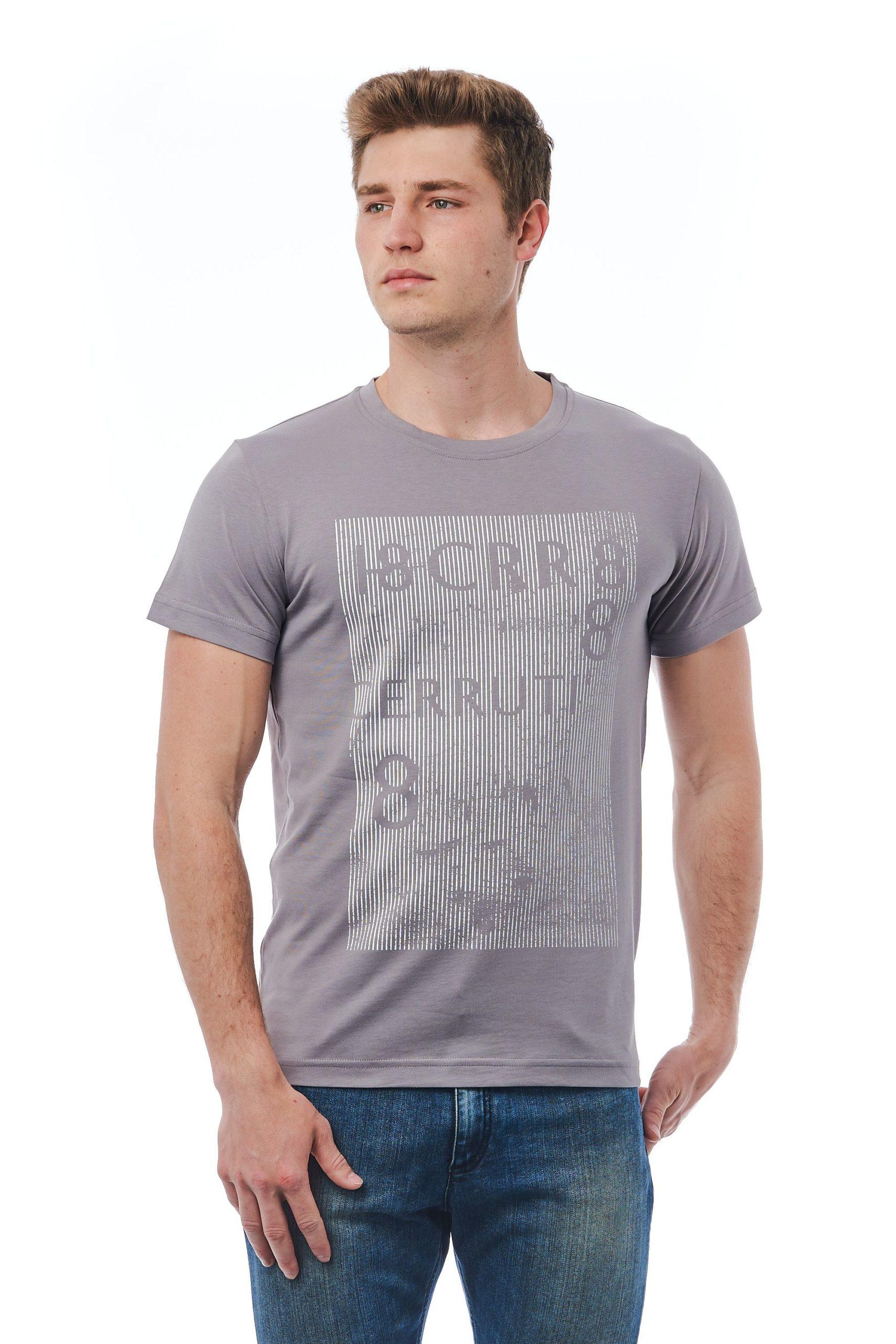 Cerruti 1881 Men's Grigio T-Shirt Gray CE1409802 - M