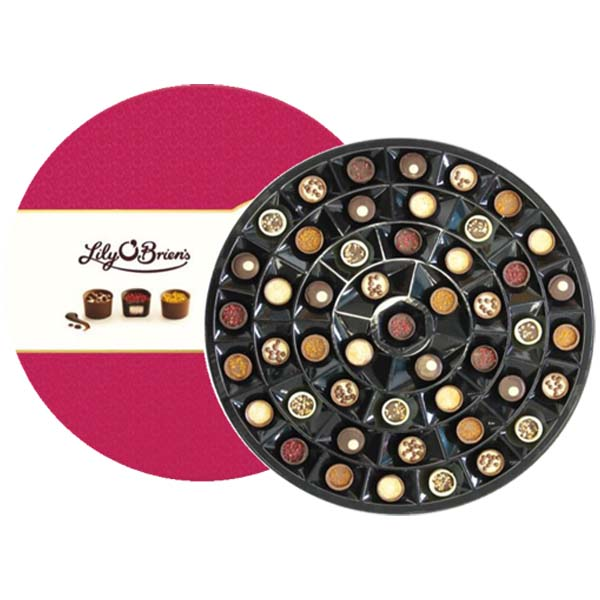 Lilys Chocolate Round 625g