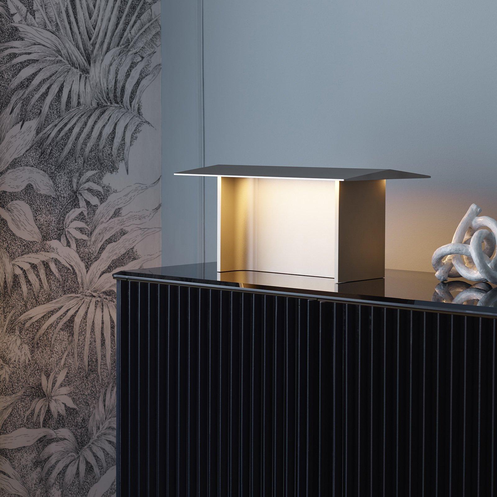 Luceplan Fienile LED-bordlampe, prosecco