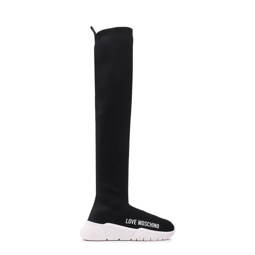 Love Moschino Women's Boot Black JA15053G1DIZ4 - black EU 35