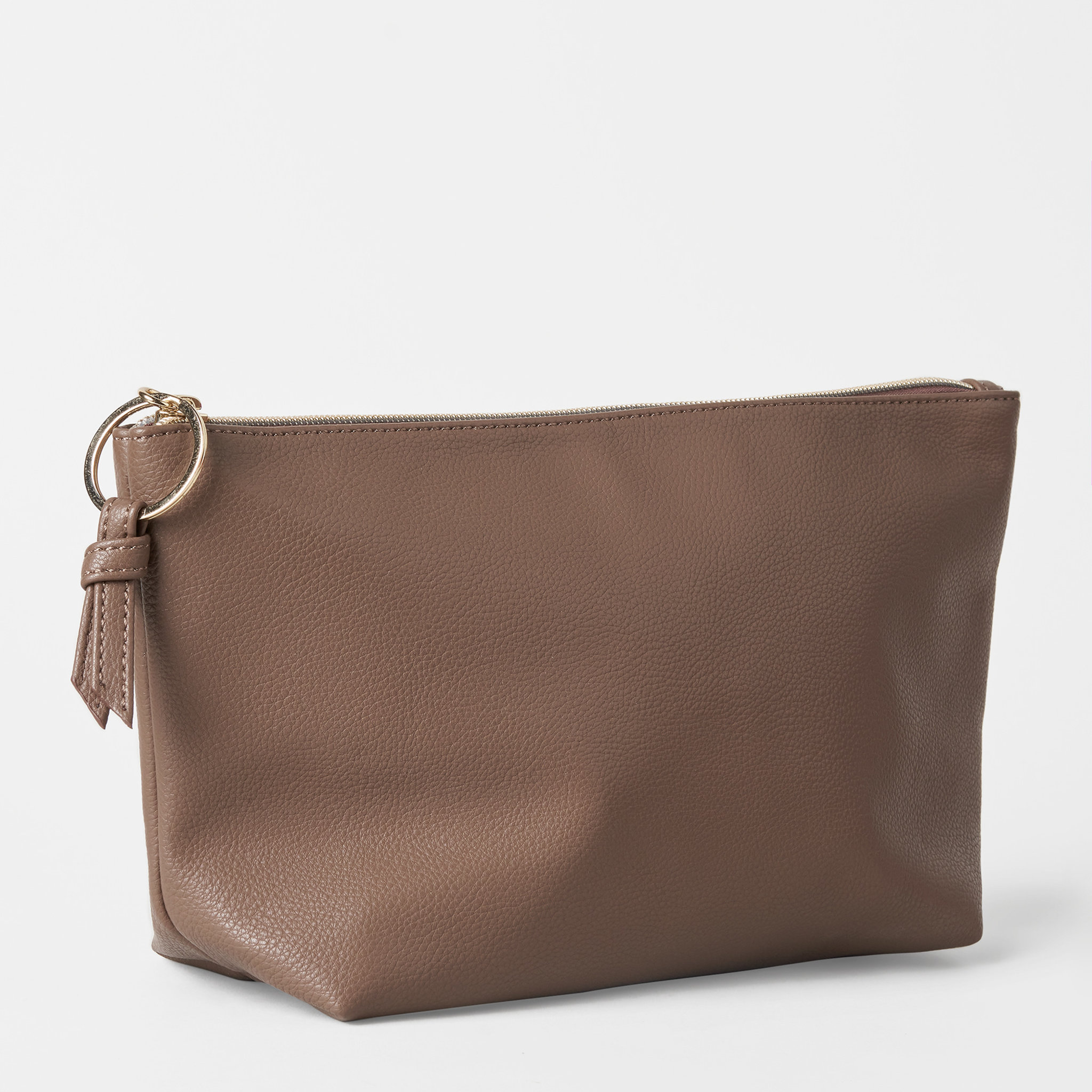 Classic Toilet Bag Brown - Medium