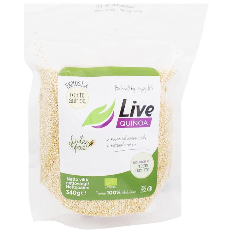 Eko Quinoa Vit 340g - 22% rabatt