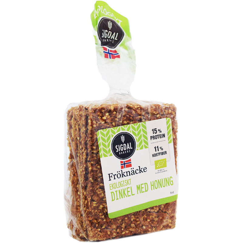 Knäckebröd Dinkel & Honung 190g - 37% rabatt