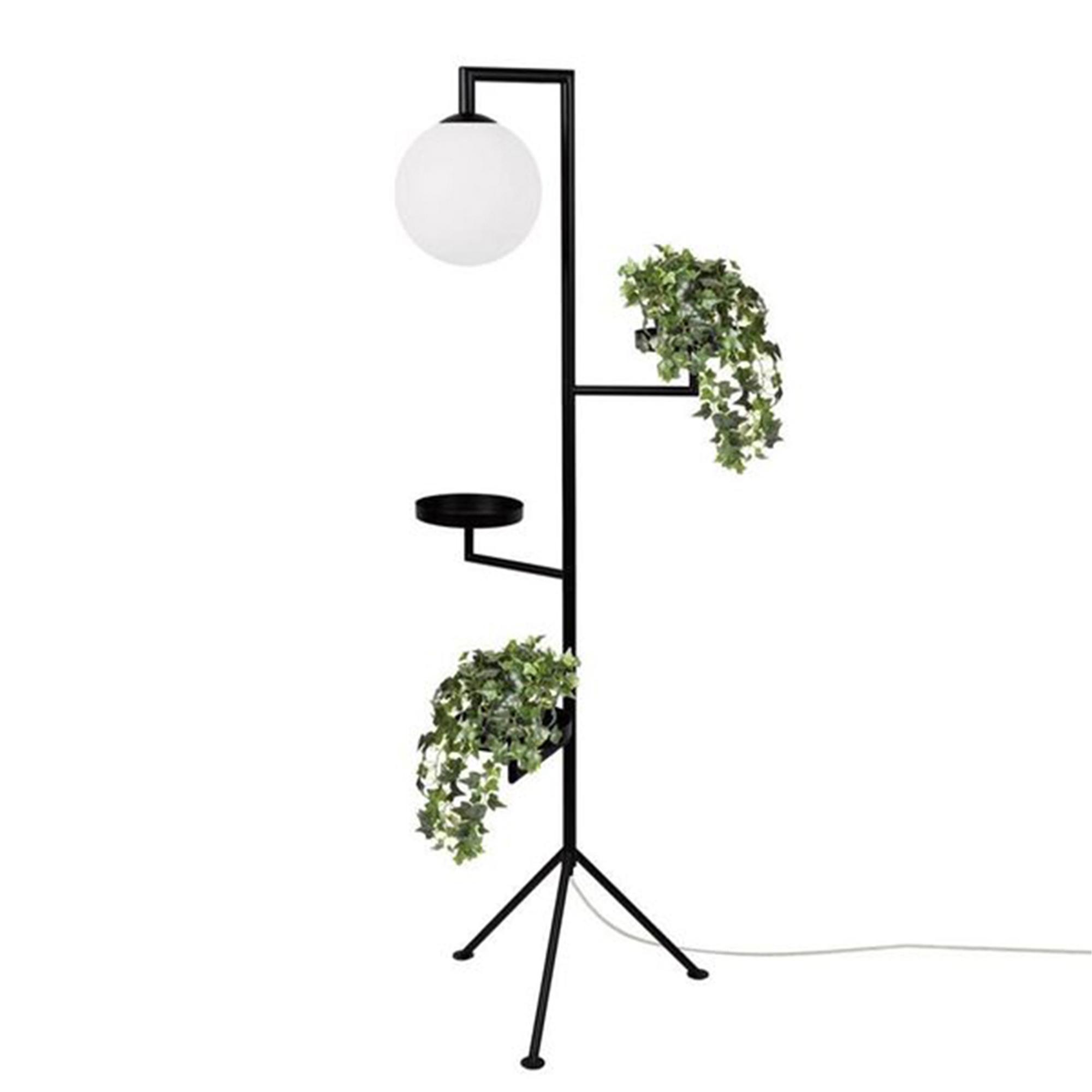 Globen Lighting Golvlampa Astoria svart