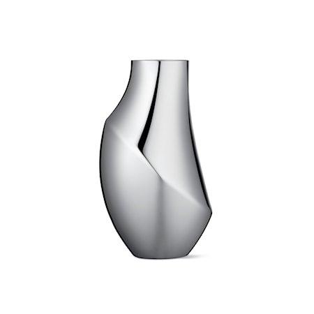 Flora Vase Medium 23cm Rustfritt Stål
