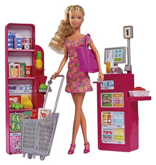 Steffi Love Dukke I Matbutikken