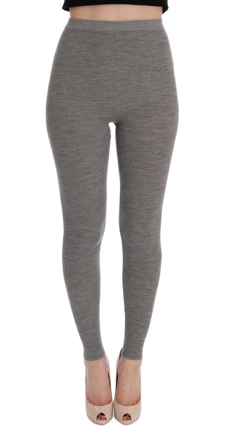 Dolce & Gabbana Women's Tights Gray SIG32060 - IT36 XXS
