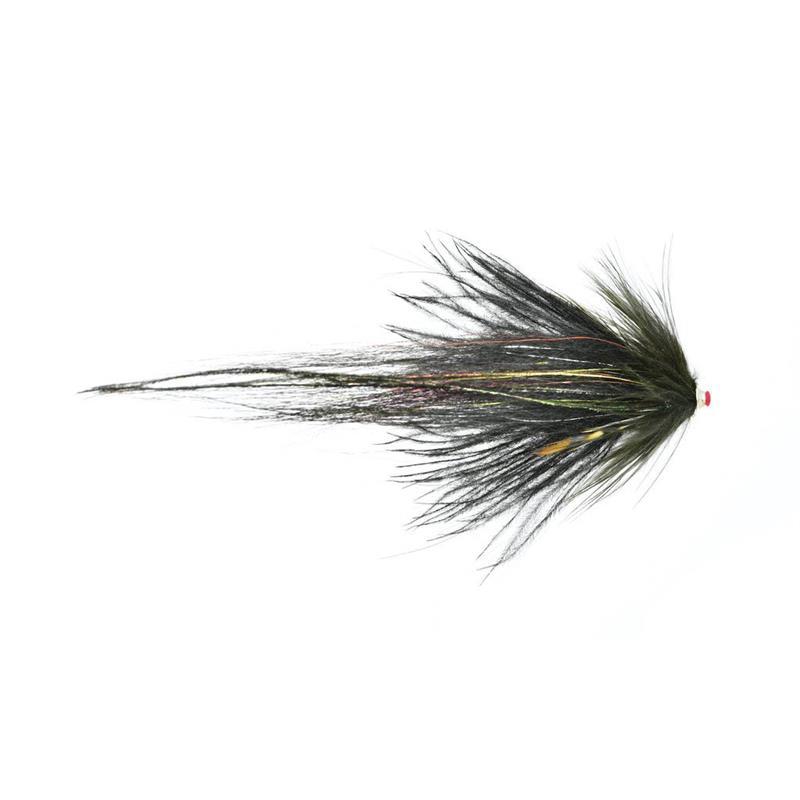 Frödin Flies Butterfly Series Black & Silver7cm