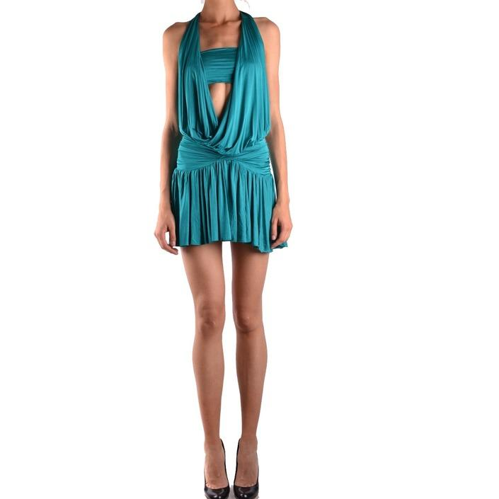 Pinko Women's Dress Green 187059 - green M