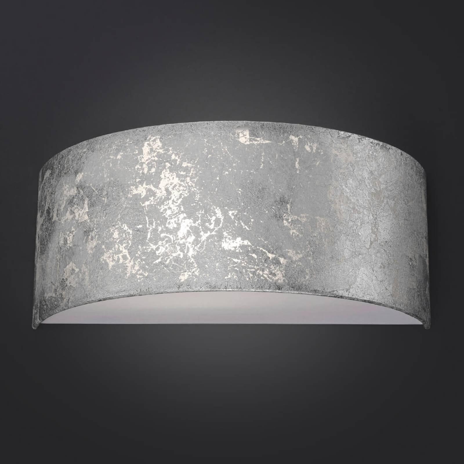 LED-seinävalaisin Alea, lehtihopea, himmennettävä