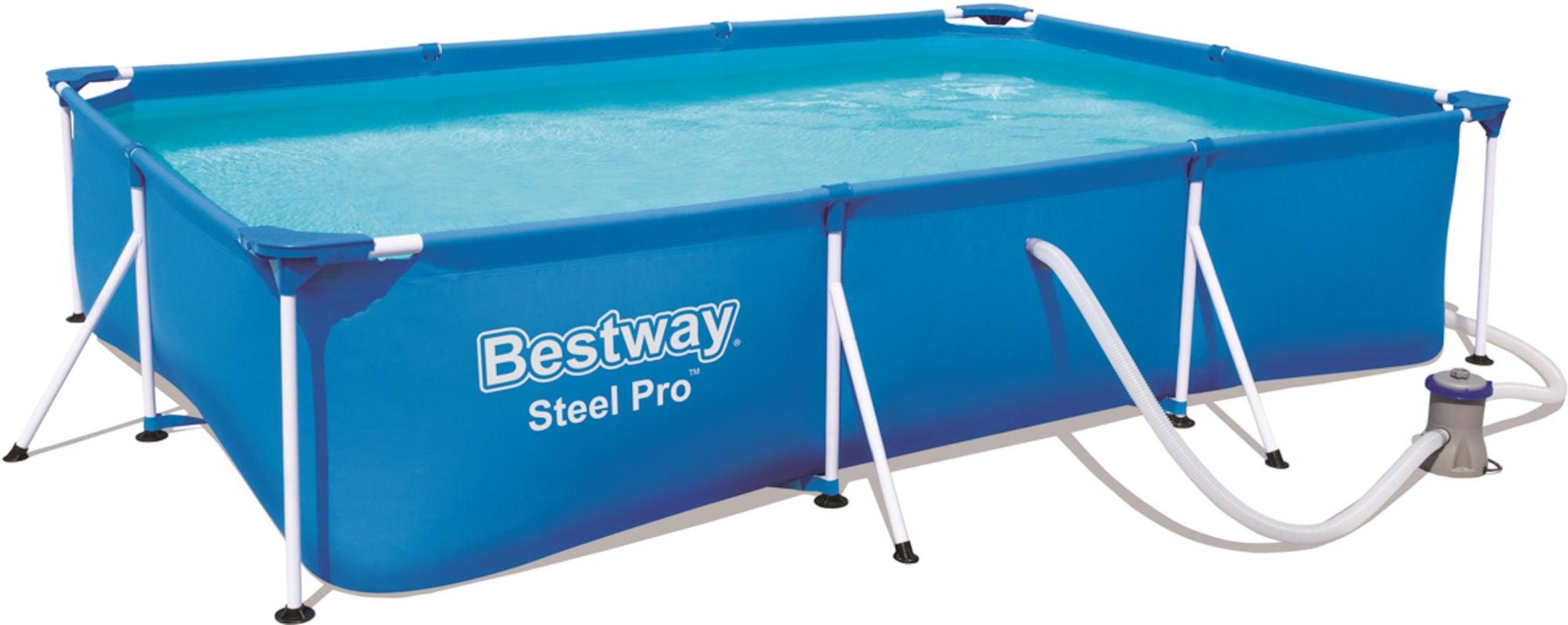 Bestway Steel Pro Pool m. Tillbehör 300 x 201