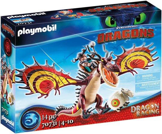 Playmobil 70731 Dragon Racing: Snytulf og Kroktann