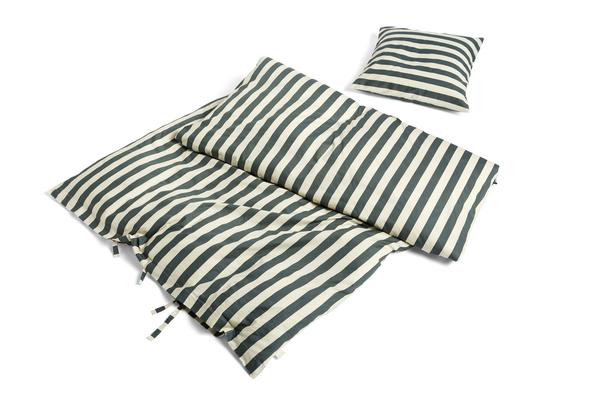 HAY - Été Bed Linen Set 140 x 200 cm - Dark Green (1176080)