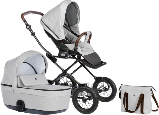 Nordbaby Nord Comfort Plus Duovogn, Pearl Slate