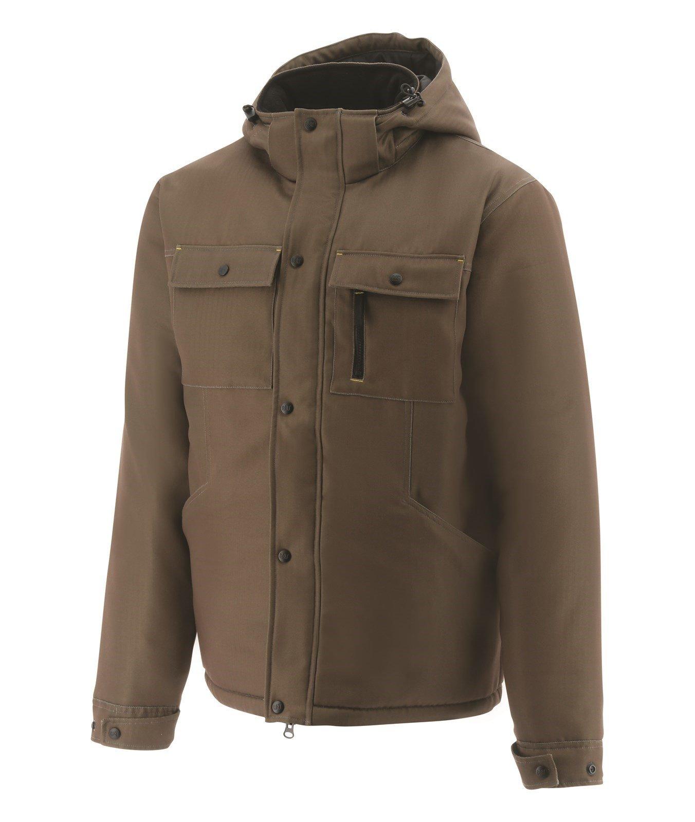 Caterpillar Unisex Stealth Insulated Workwear Jacket Black 31677 - Buffalo Sml