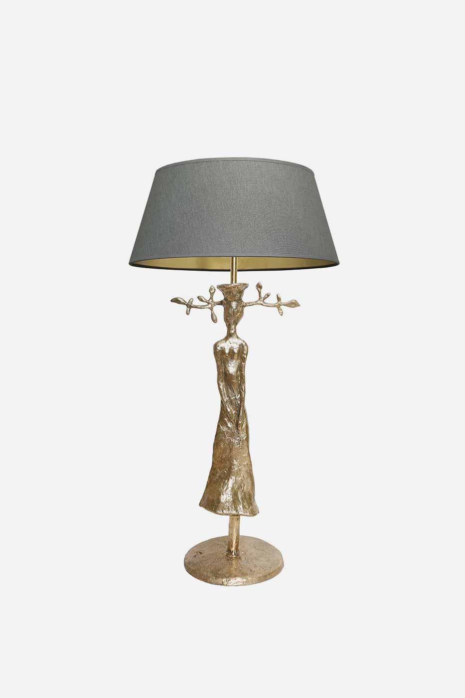 Bordslampa Madame 78 cm guld