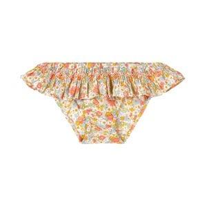Bonpoint Floral Print Bikinitrosor Gula 3 år