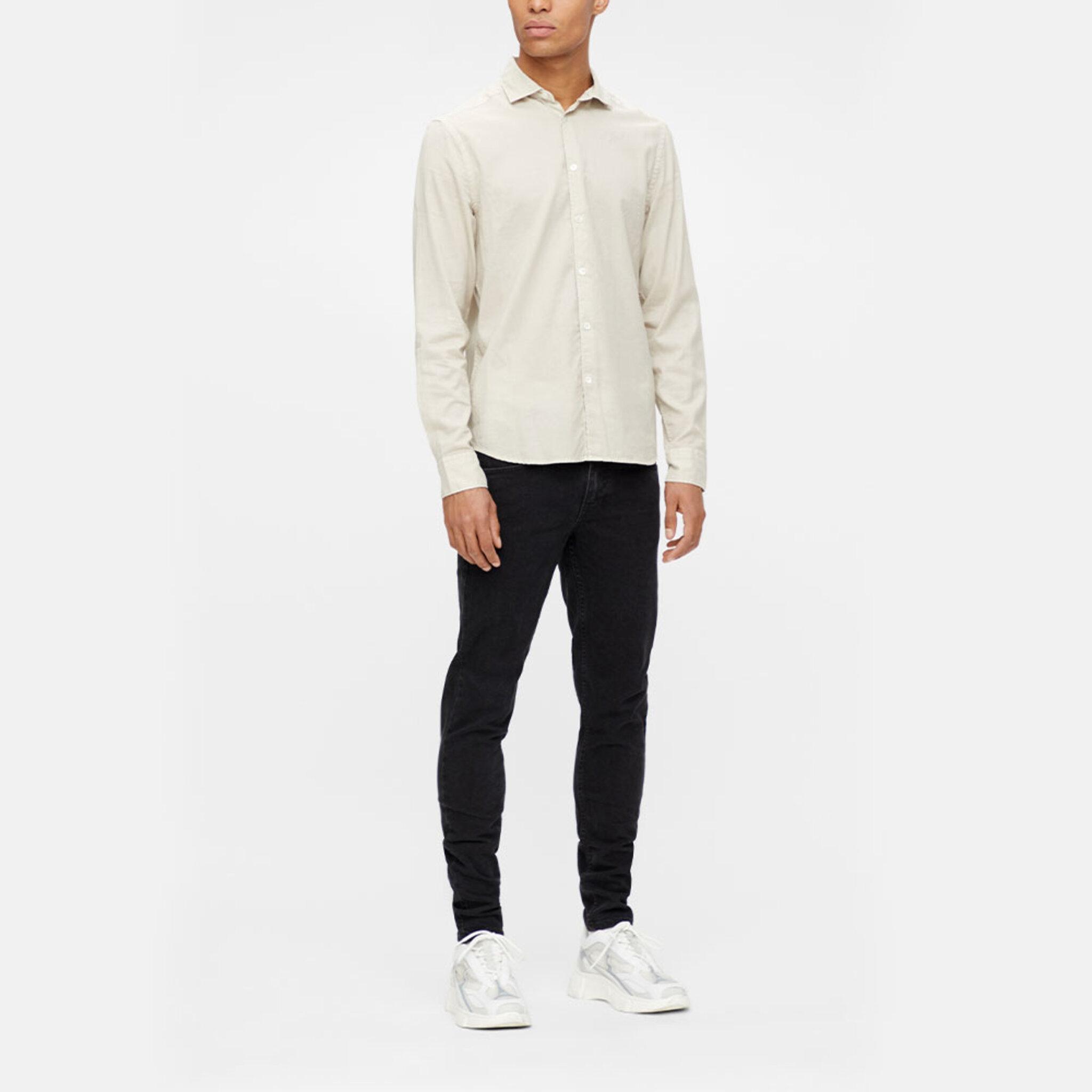 Airy Oxford Slim Shirt