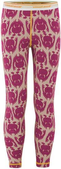 Vossatassar Monsterull Bukse, Light Pink 90