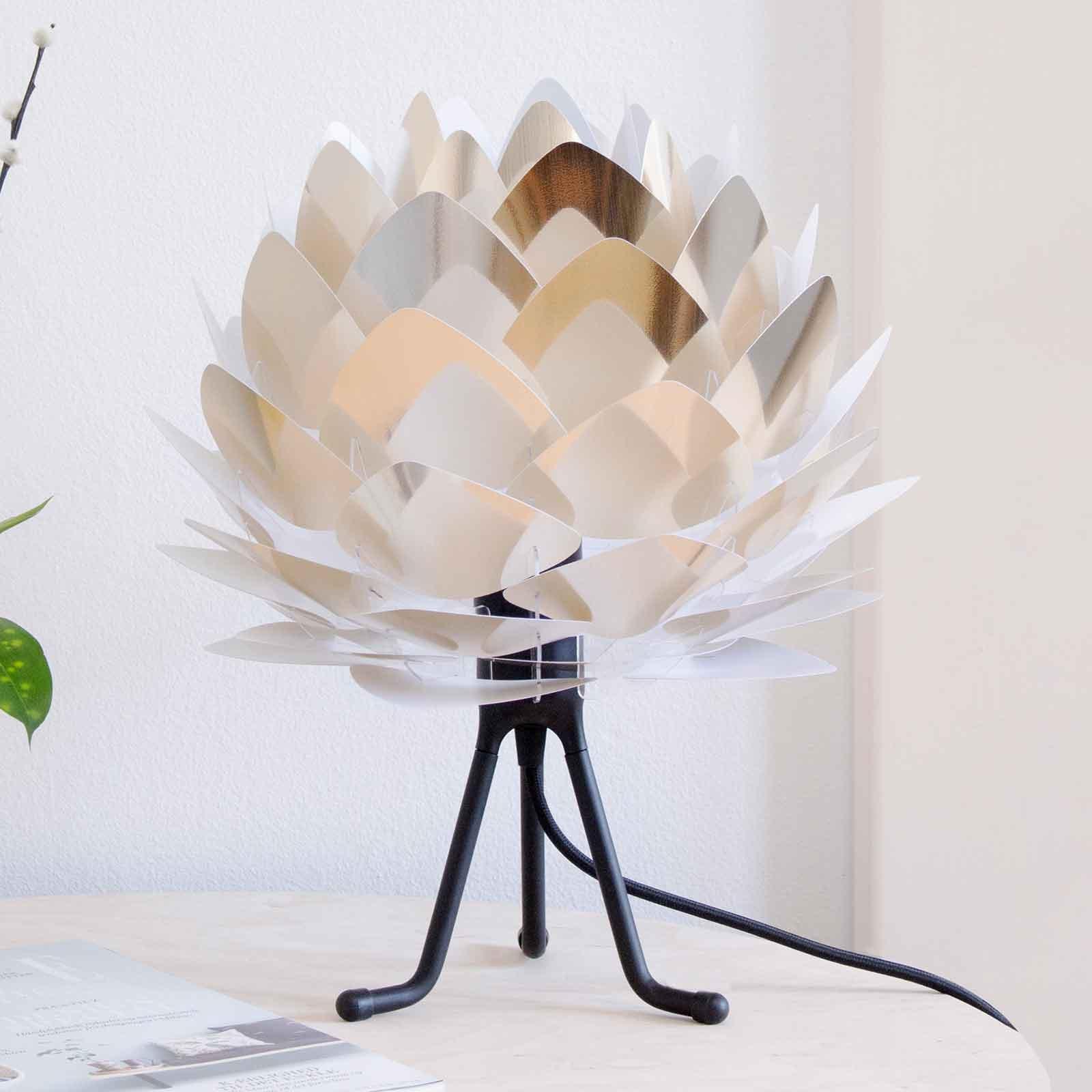 UMAGE Silvia Mini bordlampe stål/tripod svart