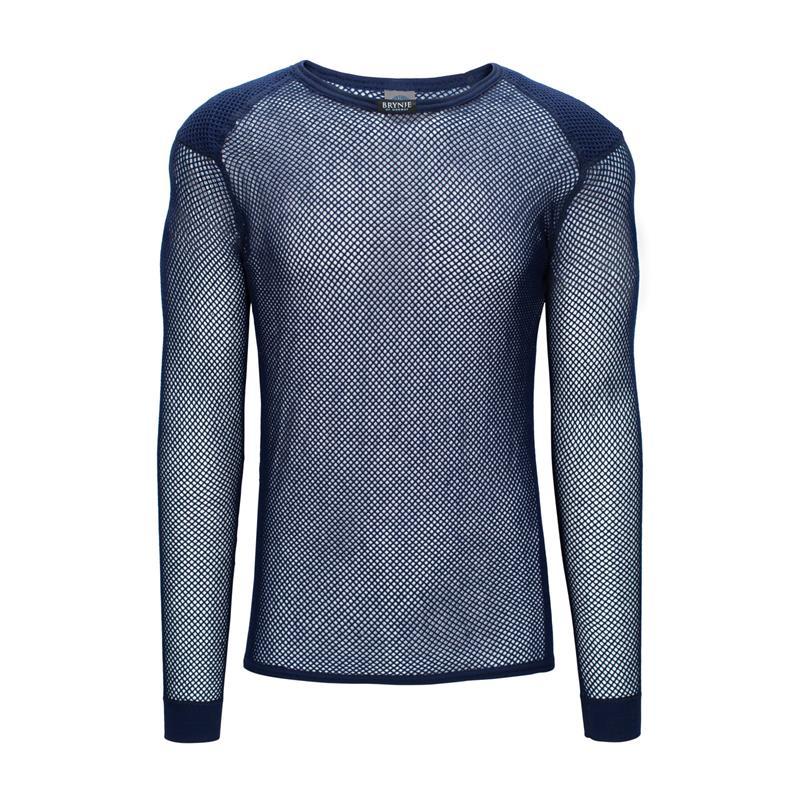 Brynje Super Thermo Shirt w/inlay M Marine