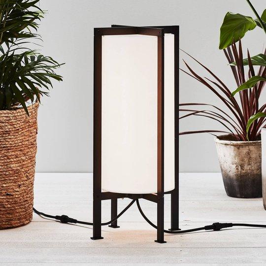 Garden 24 LED-gulvlampe Cylinder Frame, 54 cm