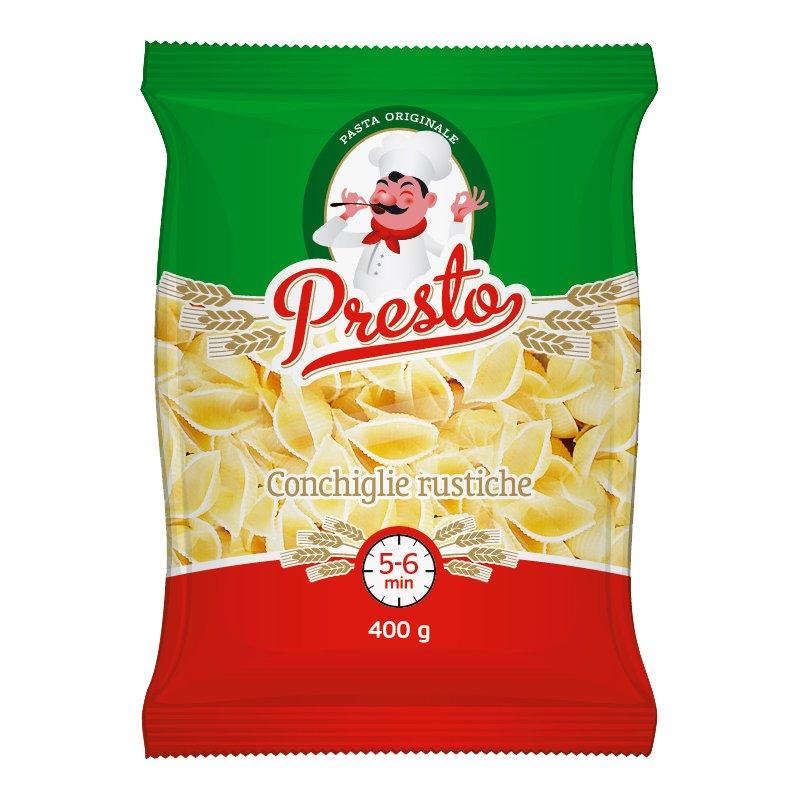 Pasta Conchiglie Rustiche - 28% rabatt